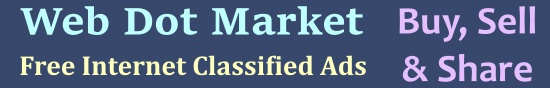 Web Dot Market - Free Online Classified Ads