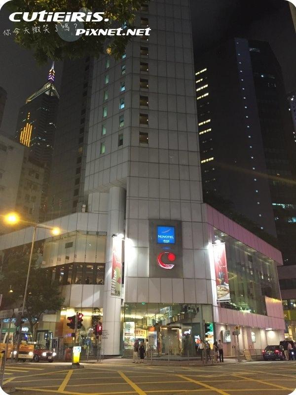 香港∥灣仔諾富特世紀酒店(Novotel Century Hong Kong Hotel)電車比地鐵方便房間沒WIFI